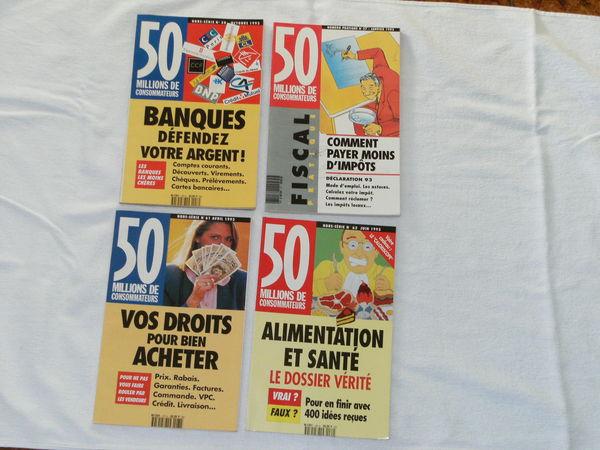 MAGAZINE LIVRE REVUE VINTAGE 50 MILLIONS de CONSOMMATEURS  0 Mont-de-Marsan (40)