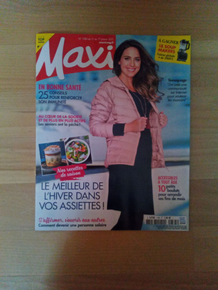 Magazine Maxi Mag N° 1785 (Neuf) Livres et BD