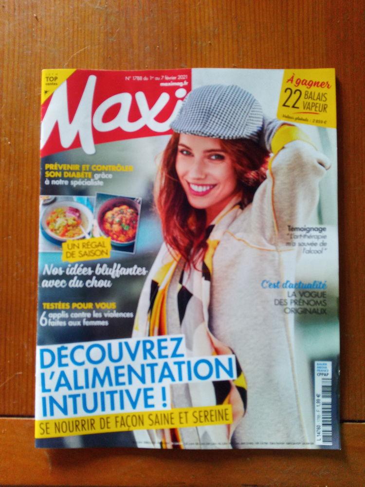 Magazine Maxi Mag N°1788 (Neuf) Livres et BD