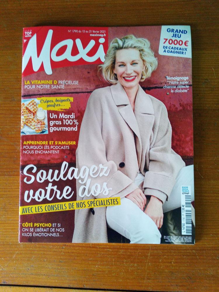 Magazine Maxi Mag N° 1790 (Neuf) Livres et BD