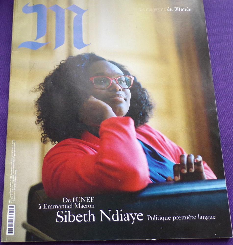 M le magazine du monde Sibeth Ndiaye n° 403 juin 2019 1 euro 1 Laval (53)