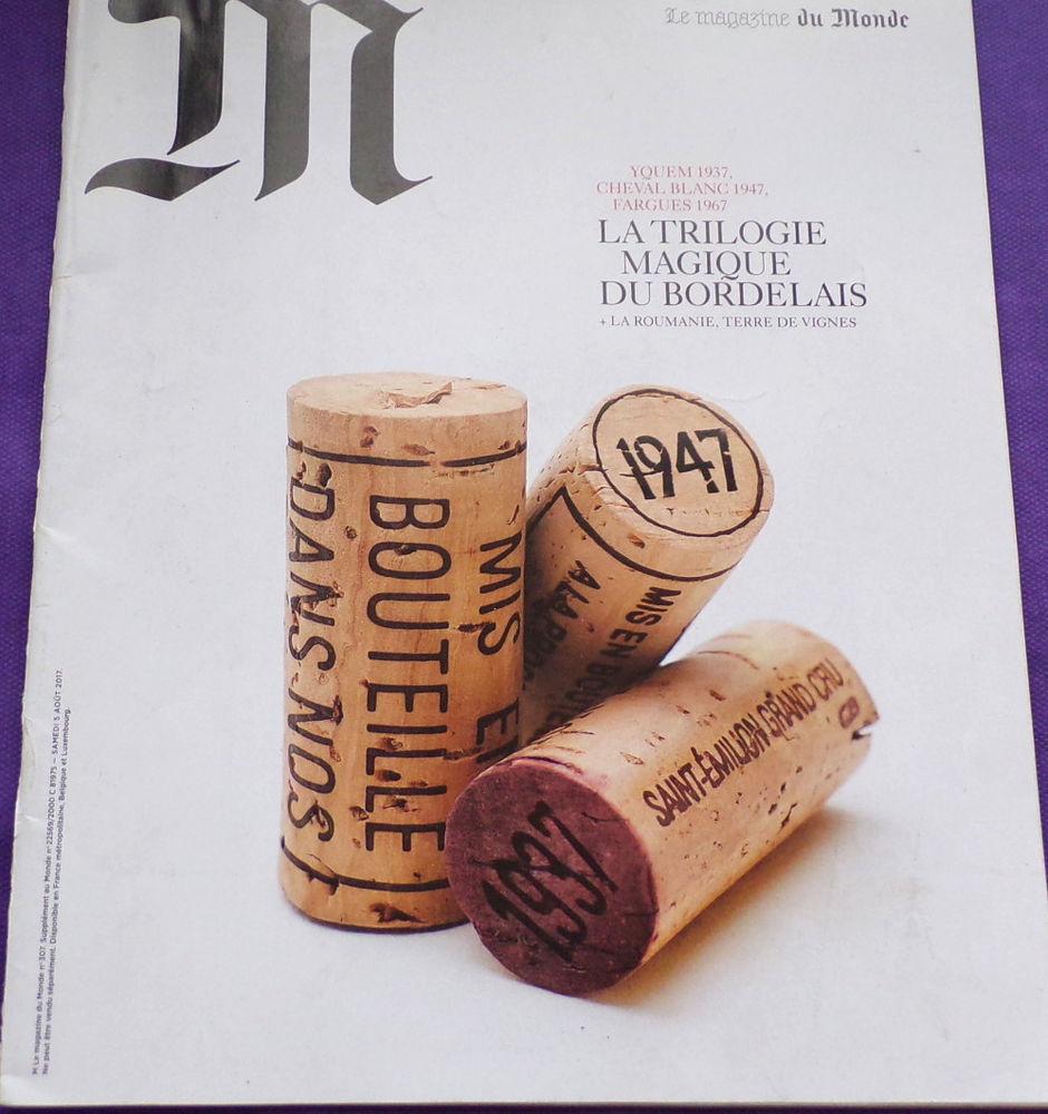M le magazine du monde la trilogie magique du bordelais n° 3 1 Laval (53)