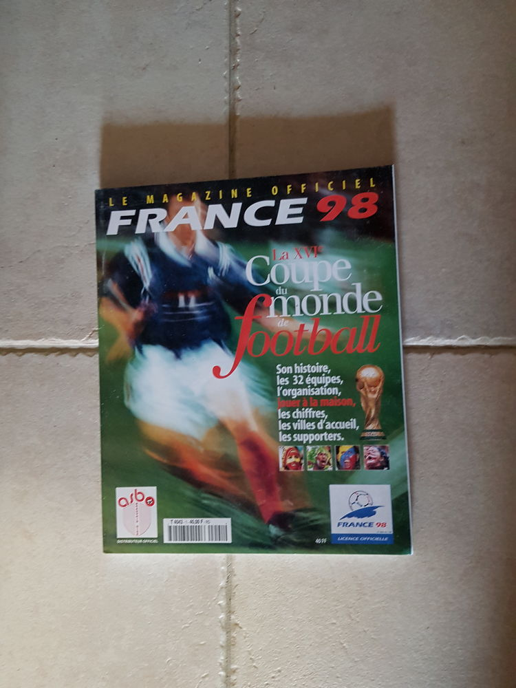 magazine officiel coupe du monde de football 1998 neuf 0 Les Portes-en-Ré (17)