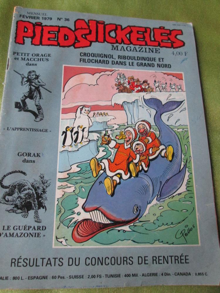 Magazine Pieds Nickelés ,Février 1979 n° 36, 10 Goussainville (95)