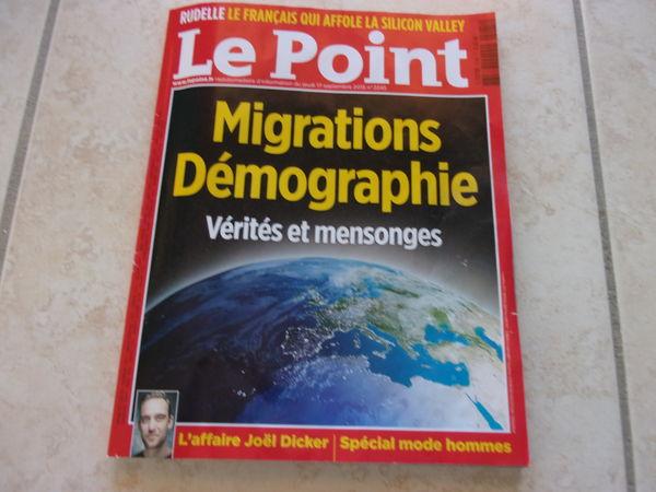 Magazine Le Point N° 2245 (Hebdo du 17/09/15) 2 Ardoix (07)