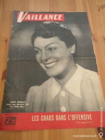 Magazine Vaillance N° 47 - nov. 1942 8 Villeurbanne (69)