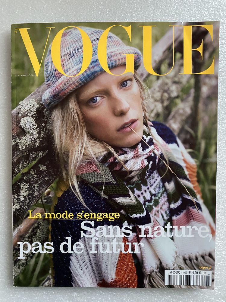 Magazine VOGUE Paris N°1002 novembre 2019 8 Joué-lès-Tours (37)