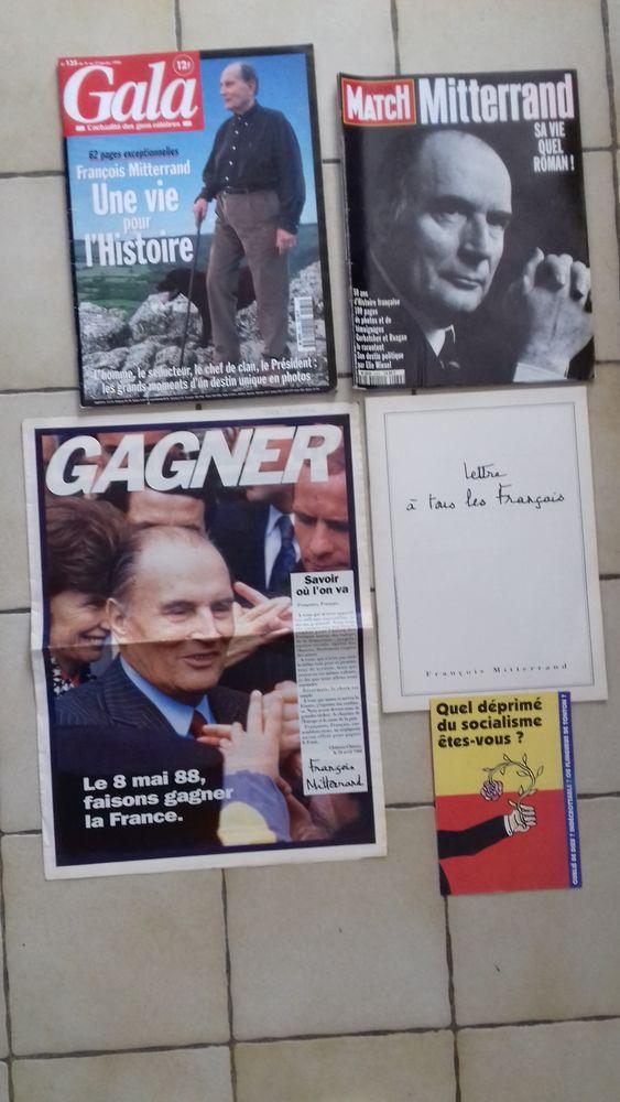 5 magazines anciens sur FRANCOIS MITERRAND 10 Éragny (95)