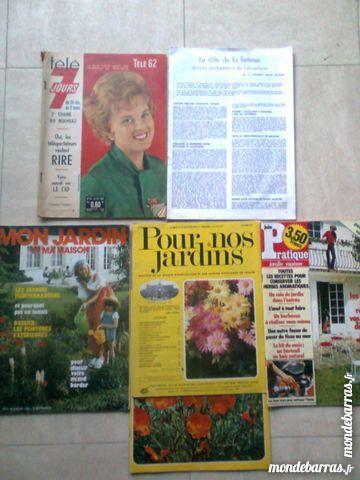 Magazines anciens télé7 j, jardins …zoe 3 Martigues (13)