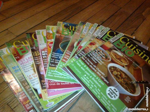 Lot 8 magazines Cuisine bio de 2005 à 2008 7 Pantin (93)