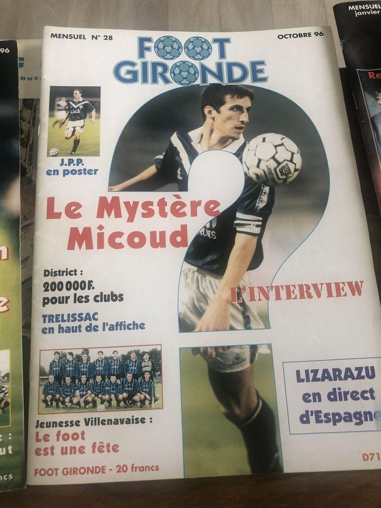 magazines de foot 09 et 10/ 1996- 01/1999 8 Carbon-Blanc (33)
