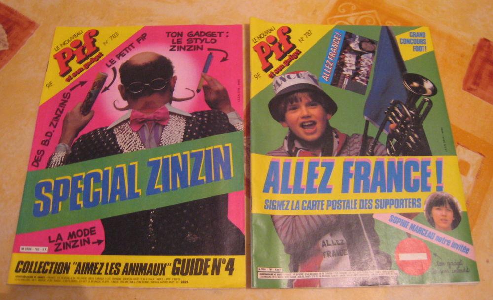 Magazines Pif Gadget anciens 4 Fleury-les-Aubrais (45)