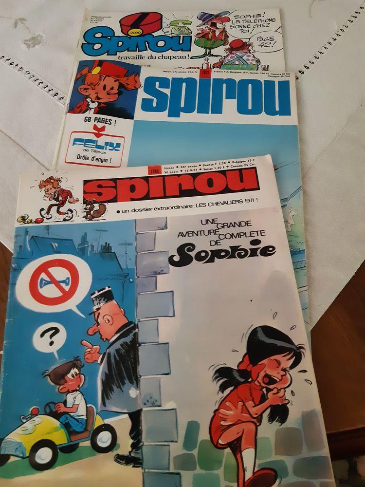 magazines hebdomadaires spirou 0 Pontault-Combault (77)