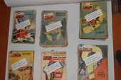 Lot de magazines ?' Le journal de TINTIN ?' de 1957 à 1971 250 Persan (95)