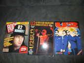 magazines revues sur U2 / Bono 2 Ch�tillon (92)