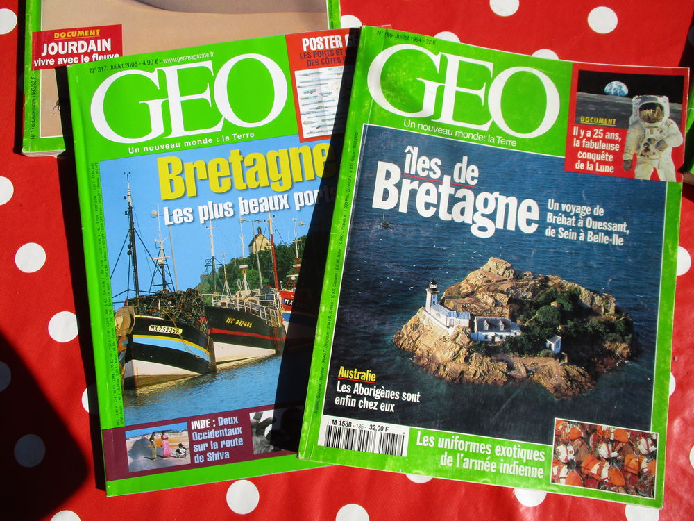 Magazines GEO Route 66 - CUBA - Bretagne 2 Dijon (21)