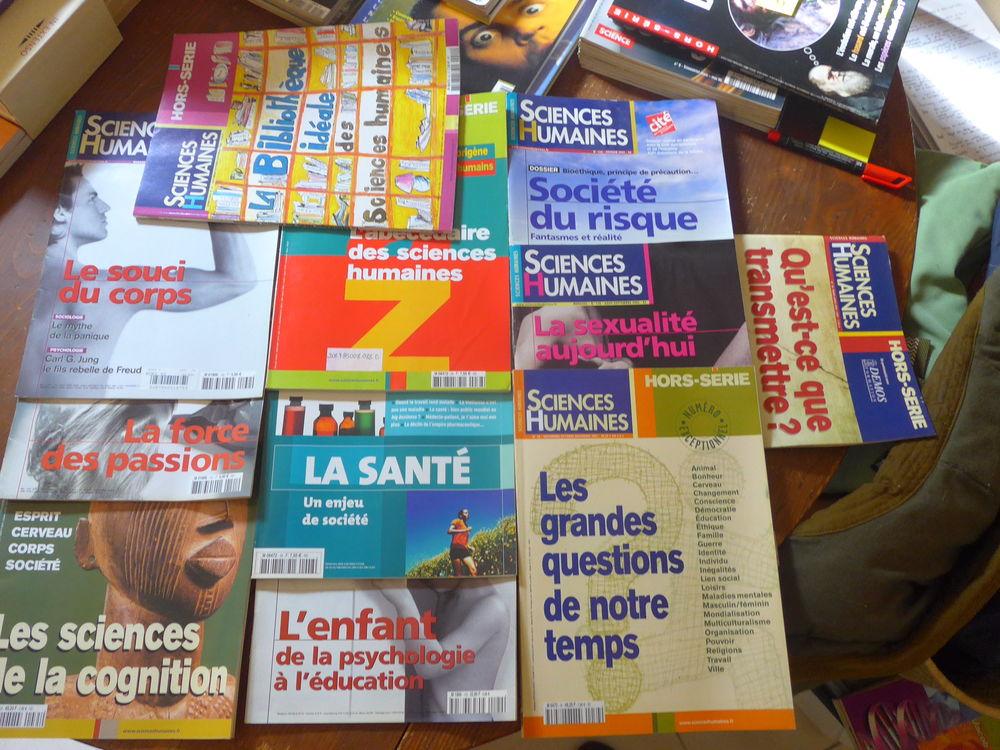 Lot de 11 magazines Sciences Hûmaines (psychologie) 18 Saint-Rémy-de-Provence (13)
