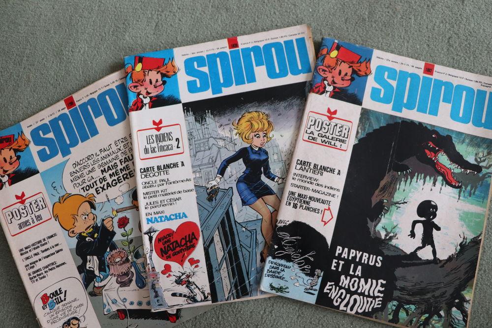 110 magazines Spirou entre années 1972 et 1975  50 Boulogne-Billancourt (92)