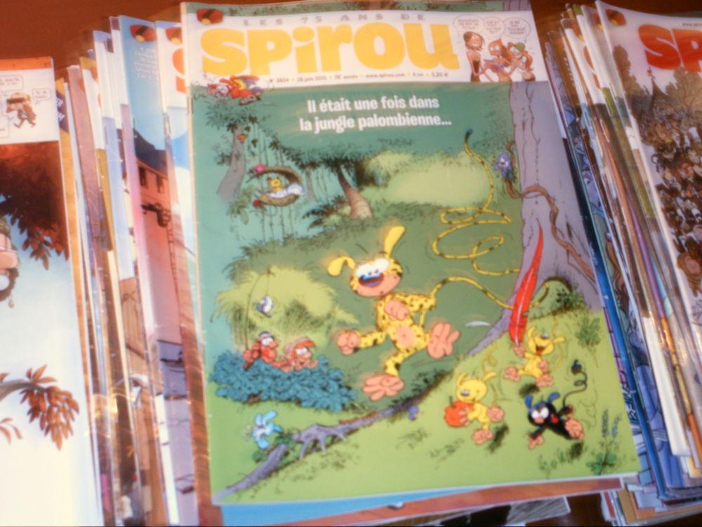 magazines spirou faire offre si possible pour le lot 1 L'Isle-d'Abeau (38)