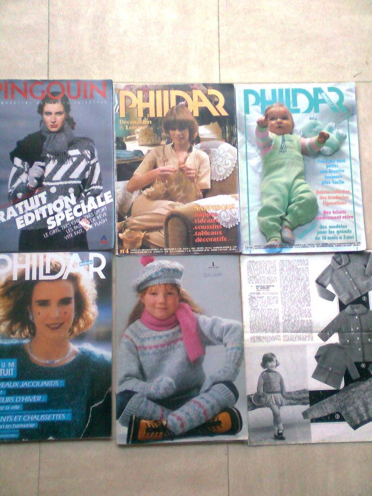 magazines TRICOT , CROCHET vintage - zoe 3 Martigues (13)