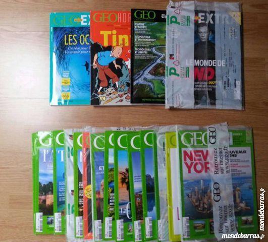 Lot Magazines Géo 35 Montgeron (91)
