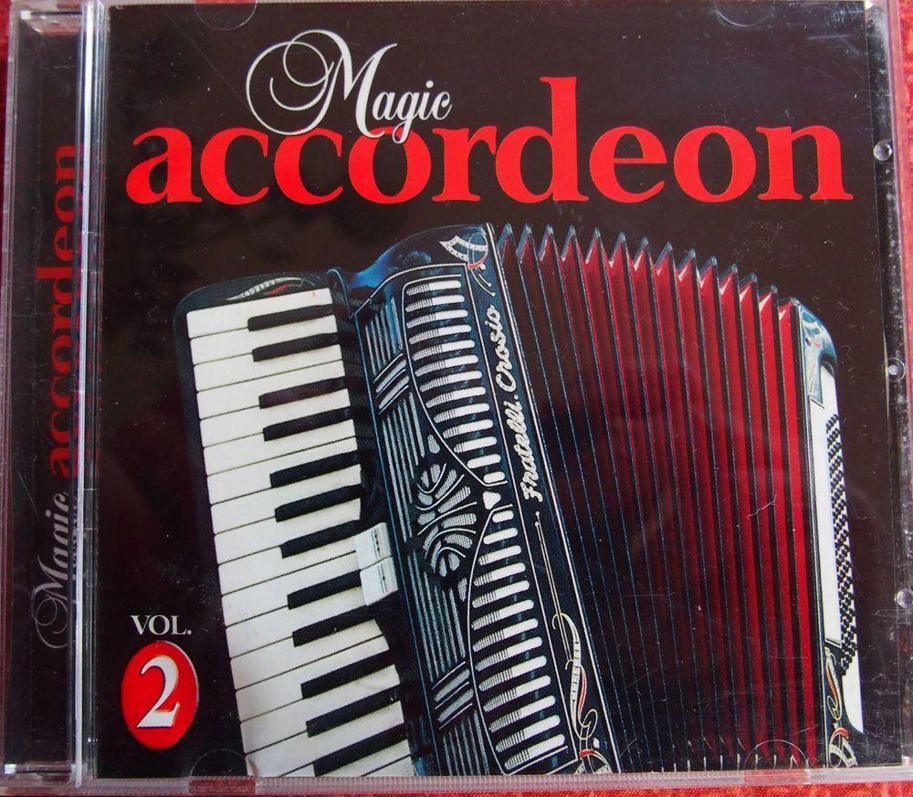 CD MAGIC ACCORDEON CD et vinyles