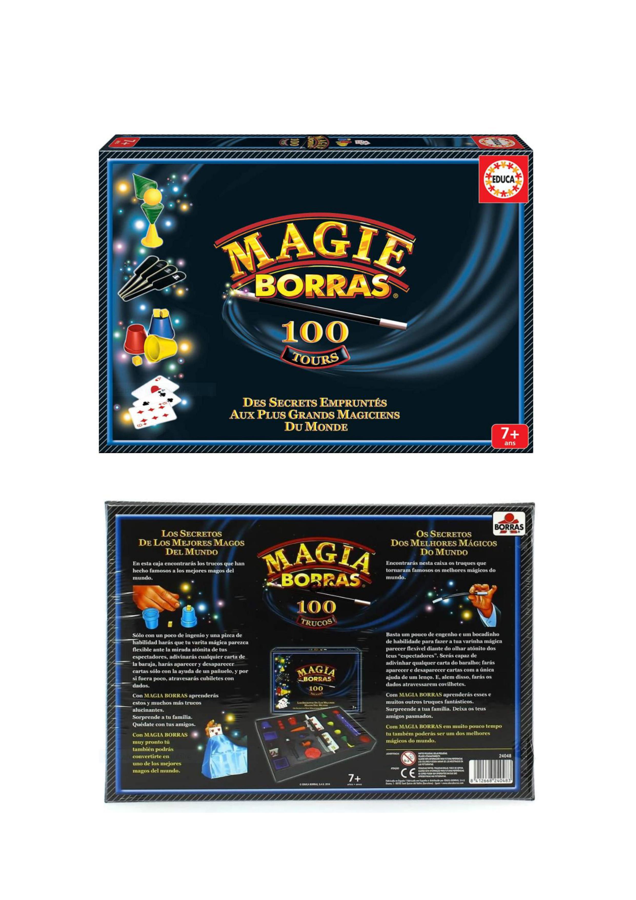 JEU DE MAGIE 100 TOURS CLASSIQUES 14 Villejuif (94)