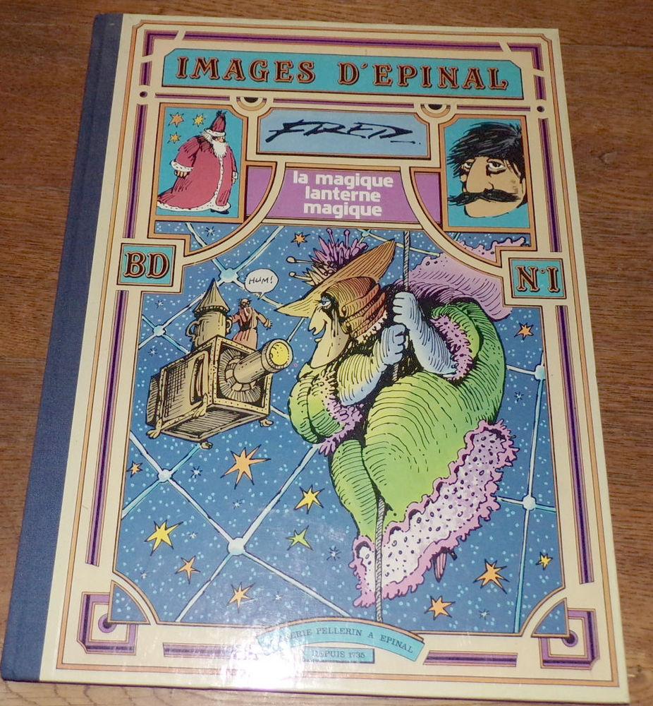 La magique lanterne magique Fred image d' épinal BD N°1 imag 35 Laval (53)