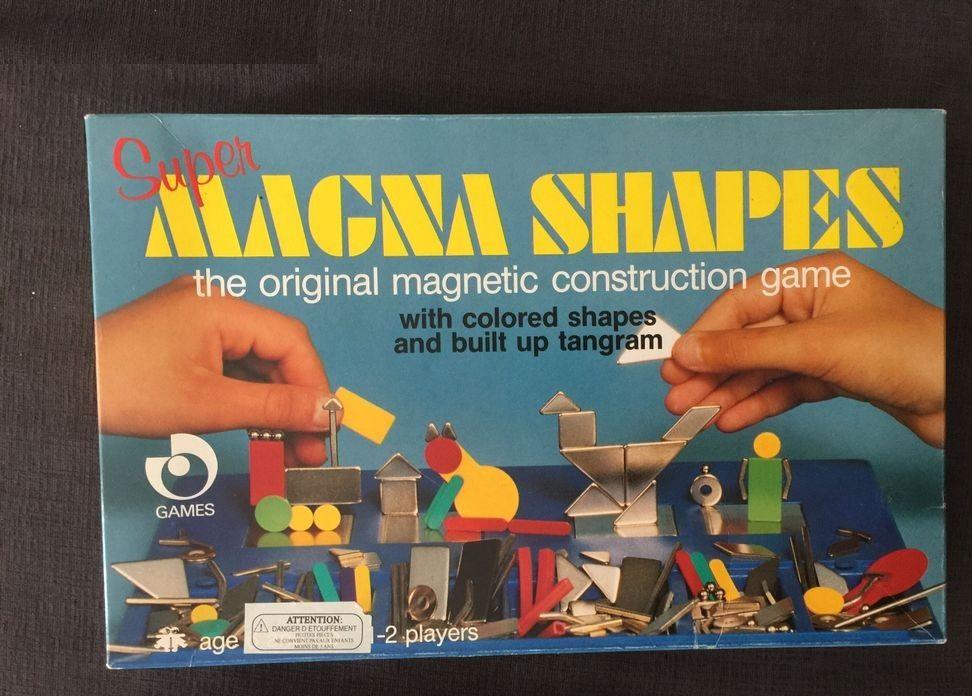 Magna shapes Jeu de formes aimantées 10 Beauchamp (95)