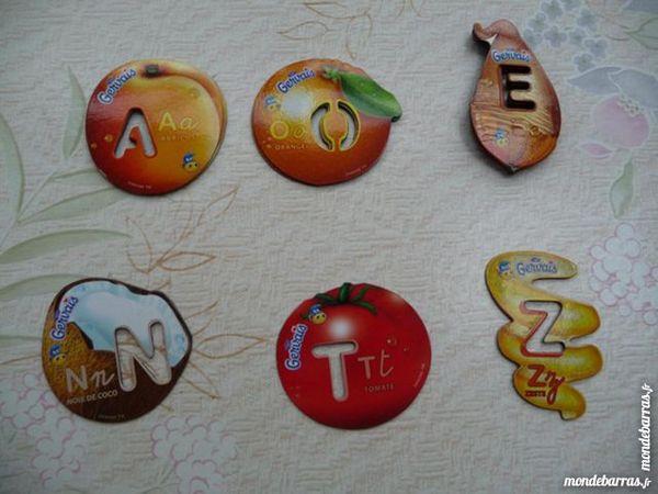 6 magnets GERVAIS 1 Montigny-le-Bretonneux (78)