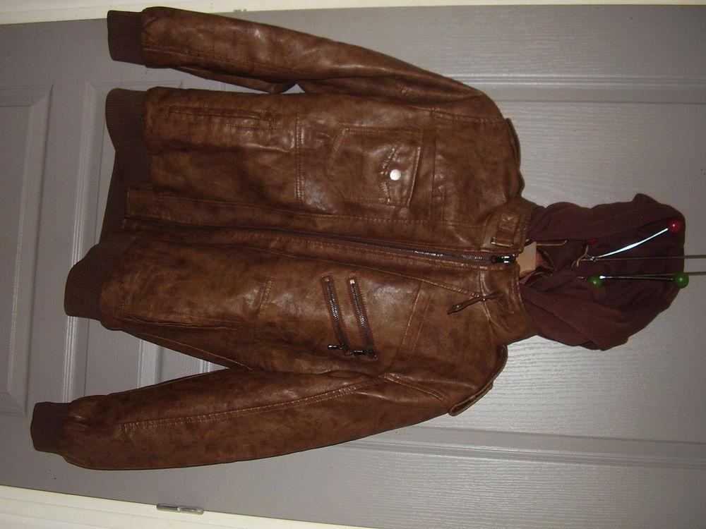 magnifique blouson cuir neuf 70 Lalleu (35)