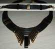 Magnifique Collier multi rangs en cuir noir  Antibes (06)