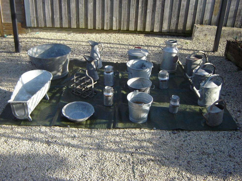 magnifique objets en zinc pour décoration 1 Buxerolles (86)