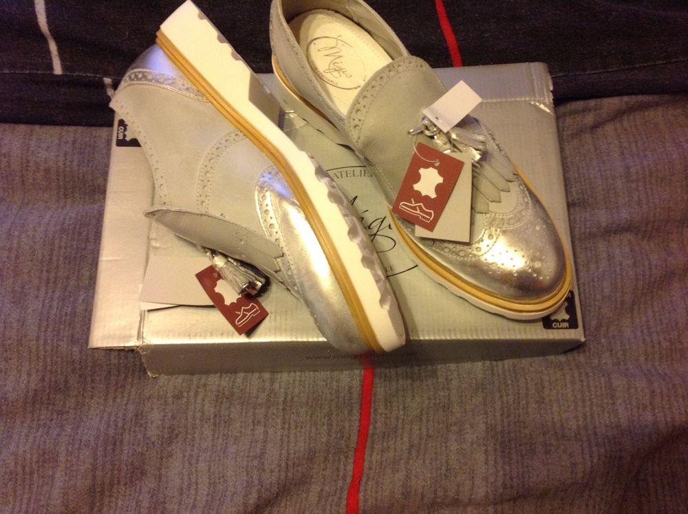 Magnifique paire de chaussures cuir neuves. 50 Bollwiller (68)