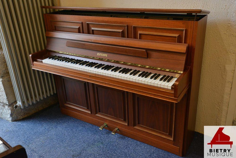 Magnifique piano droit Euterpe 114 noyer satiné 4800 Lyon 5 (69)