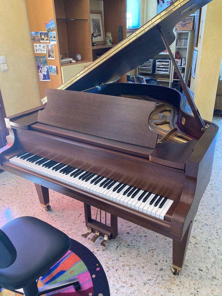 Magnifique piano à queue Schimmel en noyer 12000 Saint-Mitre-les-Remparts (13)