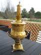 magnifique samovar en cuivre, 450 Mauguio (34)