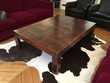 Magnifique table basse en bois 140*100