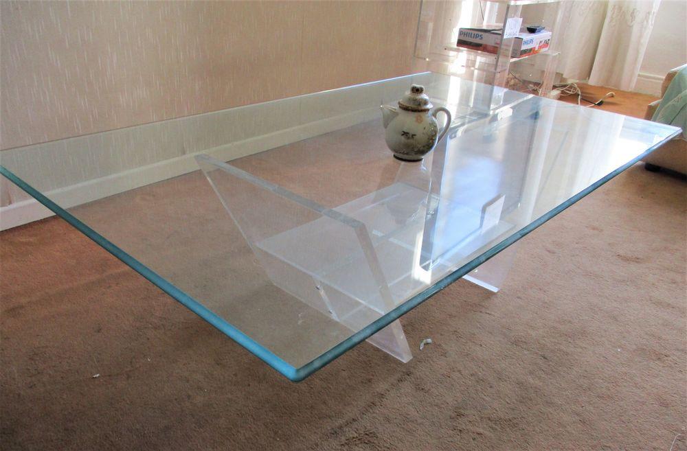 MAGNIFIQUE TABLE BASSE DESIGN RECTANGULAIRE de SALON - DAVID 380 Marseille 6 (13)