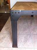MAGNIFIQUE TABLE INDUSTRIELLE LOFT 650 Carcassonne (11)