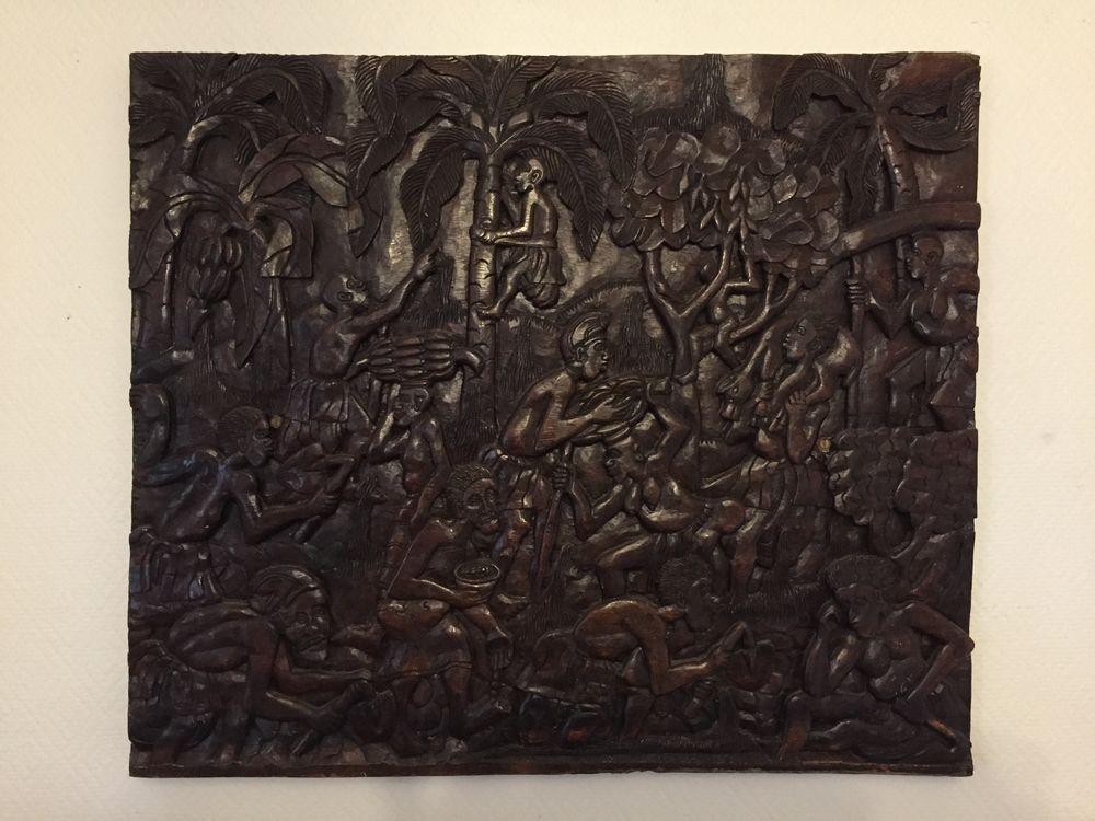 Magnifique Tableau africain 200 Pfastatt (68)