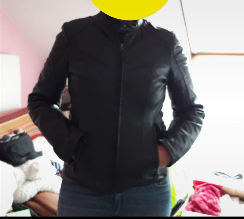Magnifique veste cuir noir MOTO 180 Strasbourg (67)