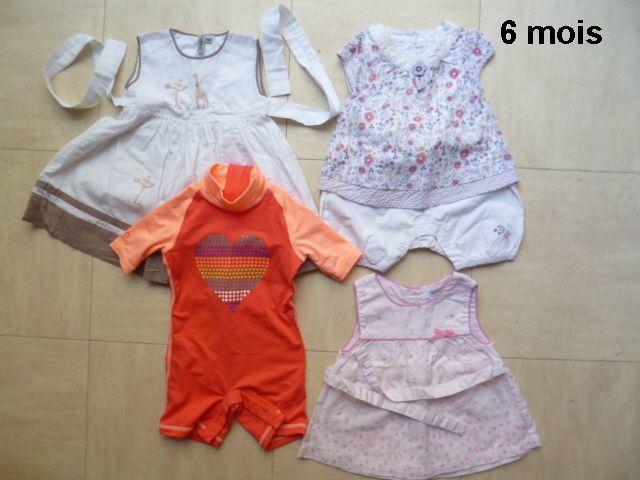 maillot ANTI  UV - 5.6 mois, robes 6 mois.... 4 Martigues (13)