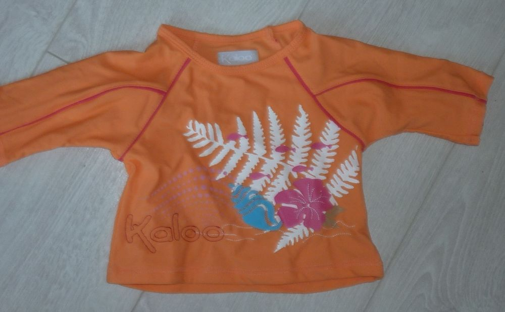 maillot bain bebe fille T shirt anti uv KALOO 3 mois neuf 6 Bonnelles (78)