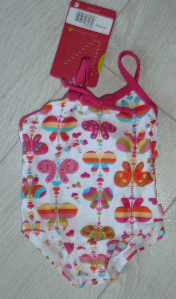 maillot bain bebe fille BABYGRO 6 mois neuf piscine mer  6 Bonnelles (78)