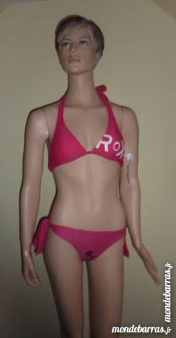 maillot de bain plage été 2 pieces ROXY NEUF ETIQU 15 Bonnelles (78)
