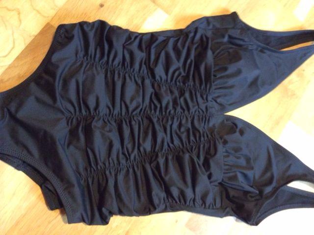 maillot 1 pièce noir Janine Robin 45 Étaples (62)