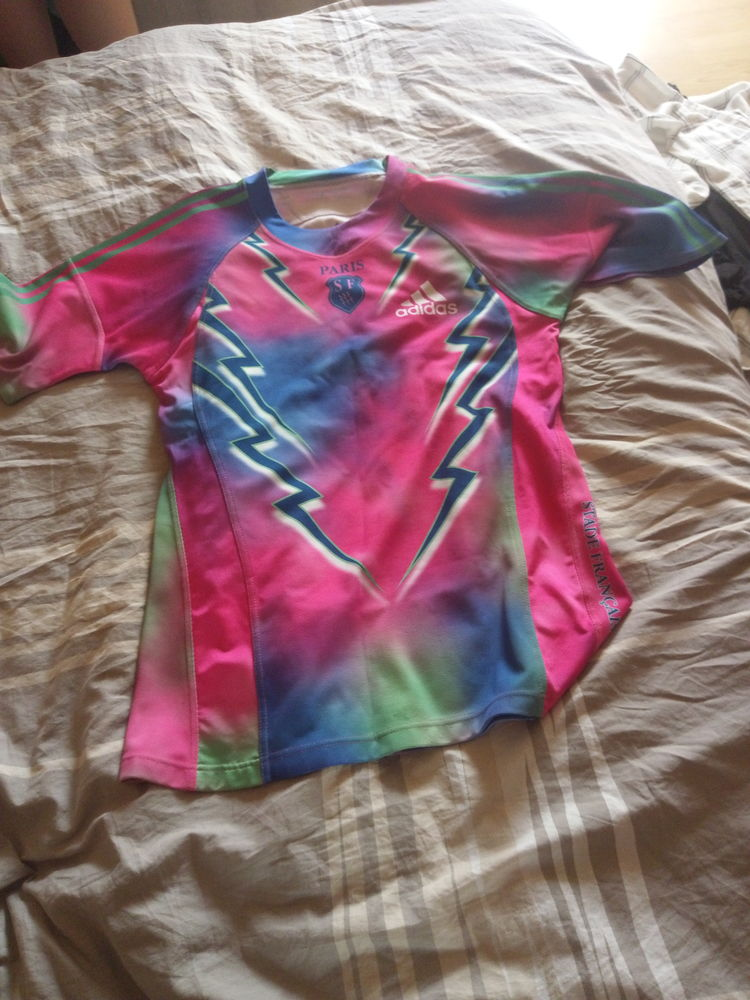Maillot rugby stade français 10 Romainville (93)