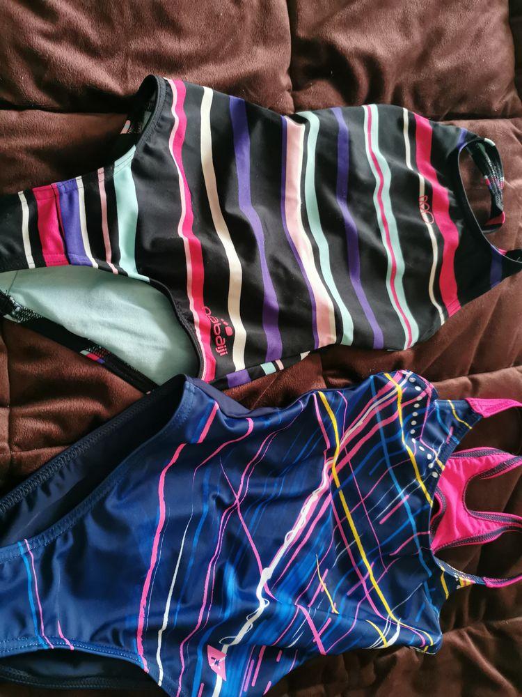 Lot de 2 maillots de bain natation  4 Roissy-en-Brie (77)