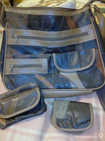 Sac à mains + accessoires assorti (jamais servis) Maroquinerie